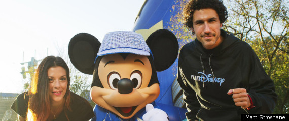 Ethan Zohn Marathon Disney World