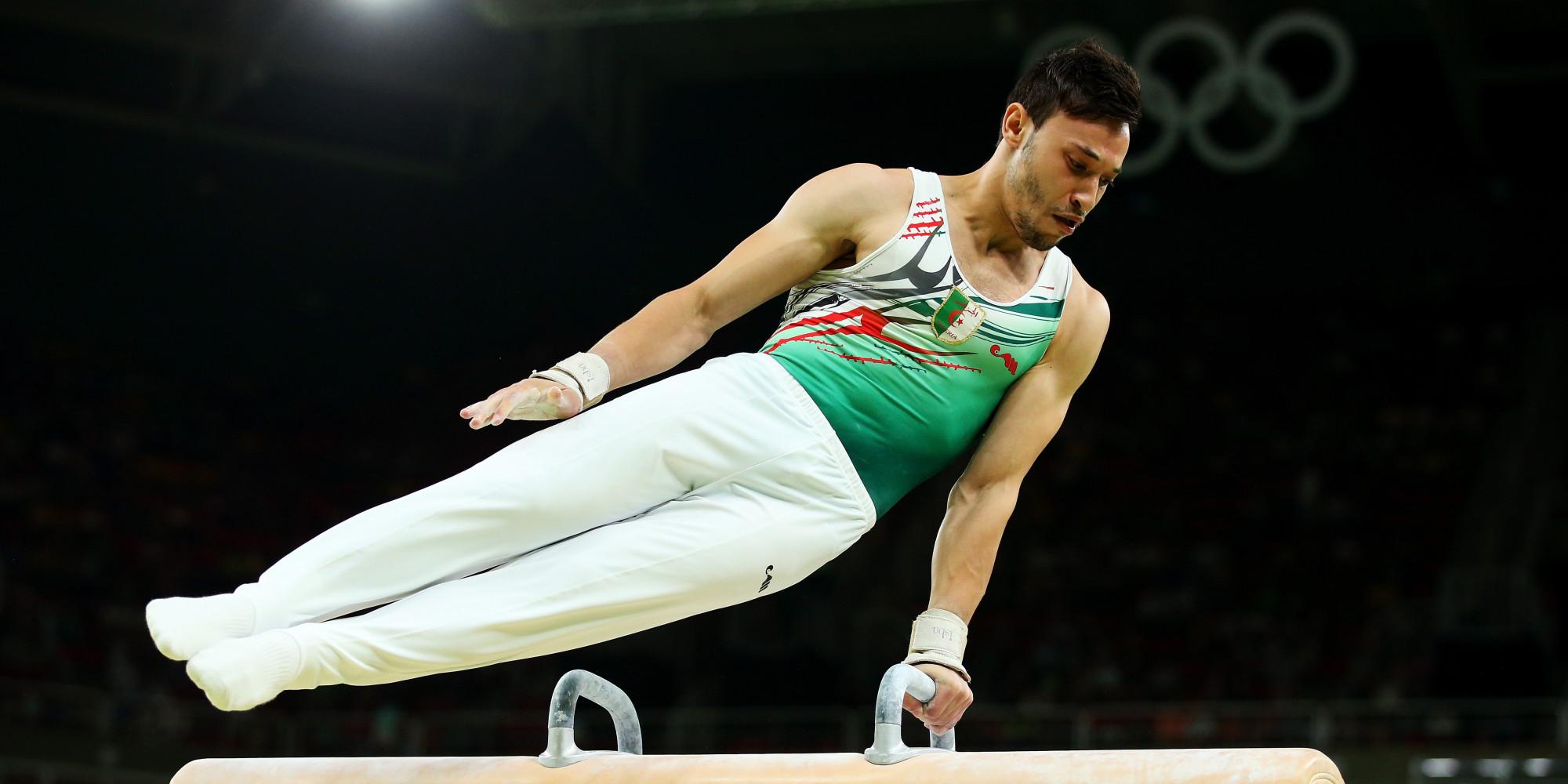 Rio 2016 gymnastique artistique l 39 alg rien bourguieg - Table de saut gymnova ...