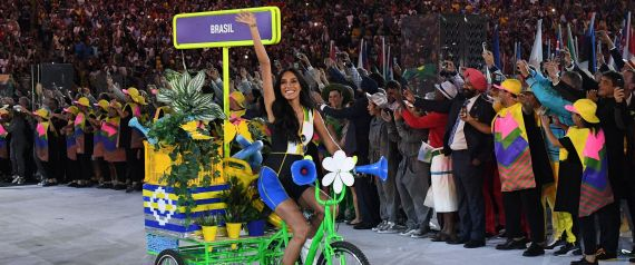 BRAZILIAN DELEGATION BIKE