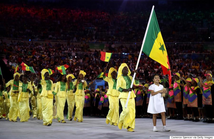 senegal olympic ceremony
