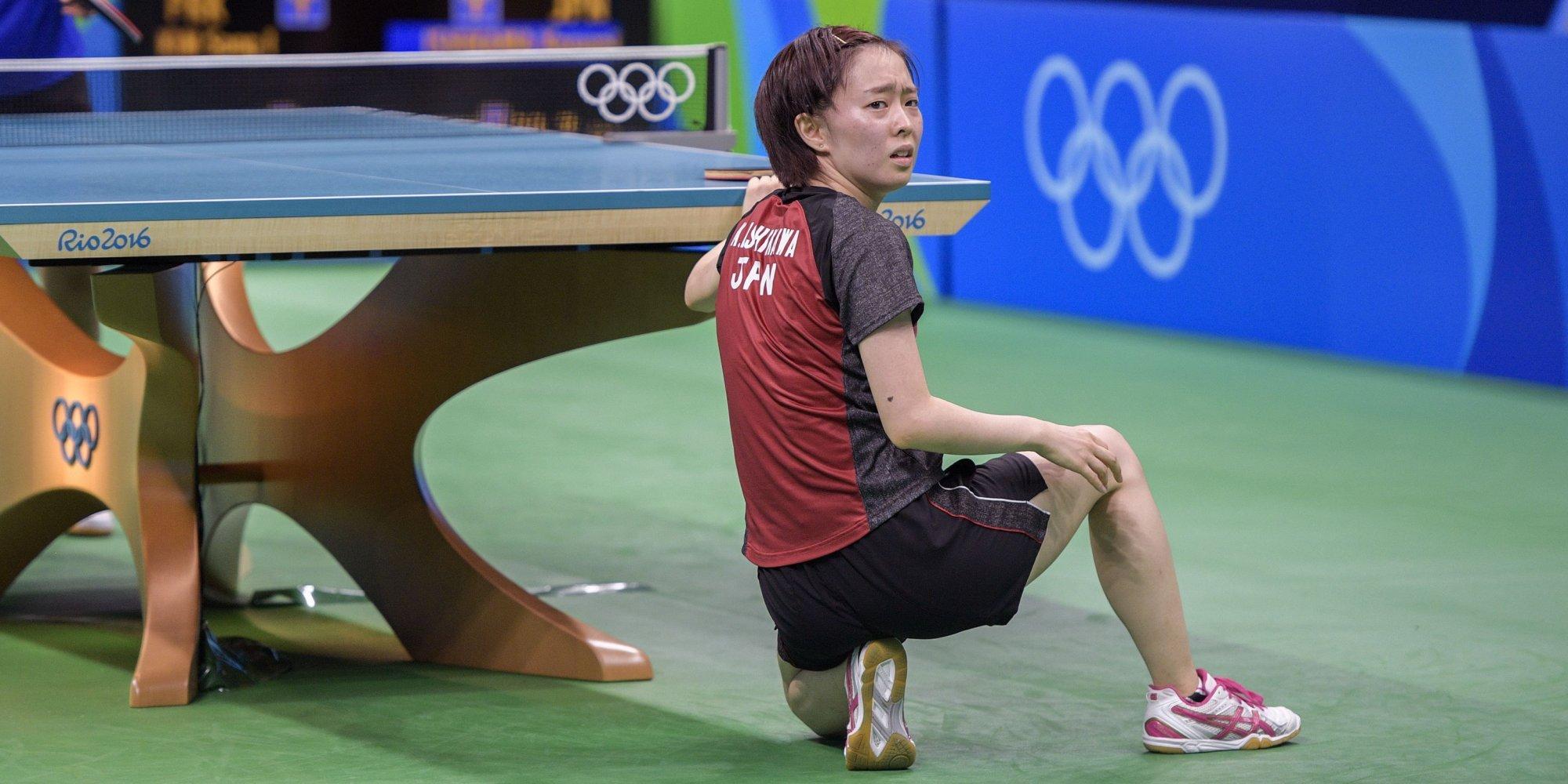 石川佳純 リオオリンピック