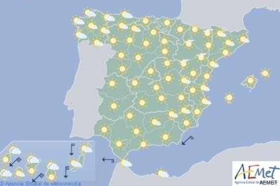 mapa de españa 8 de agosto