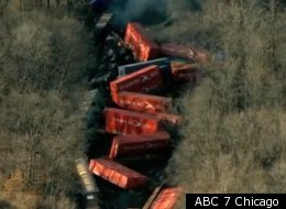 Indiana Train Derailment