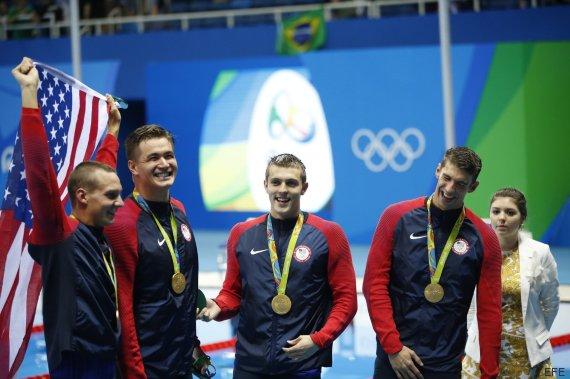 equipo ganador natacion estilo libre rio 2016