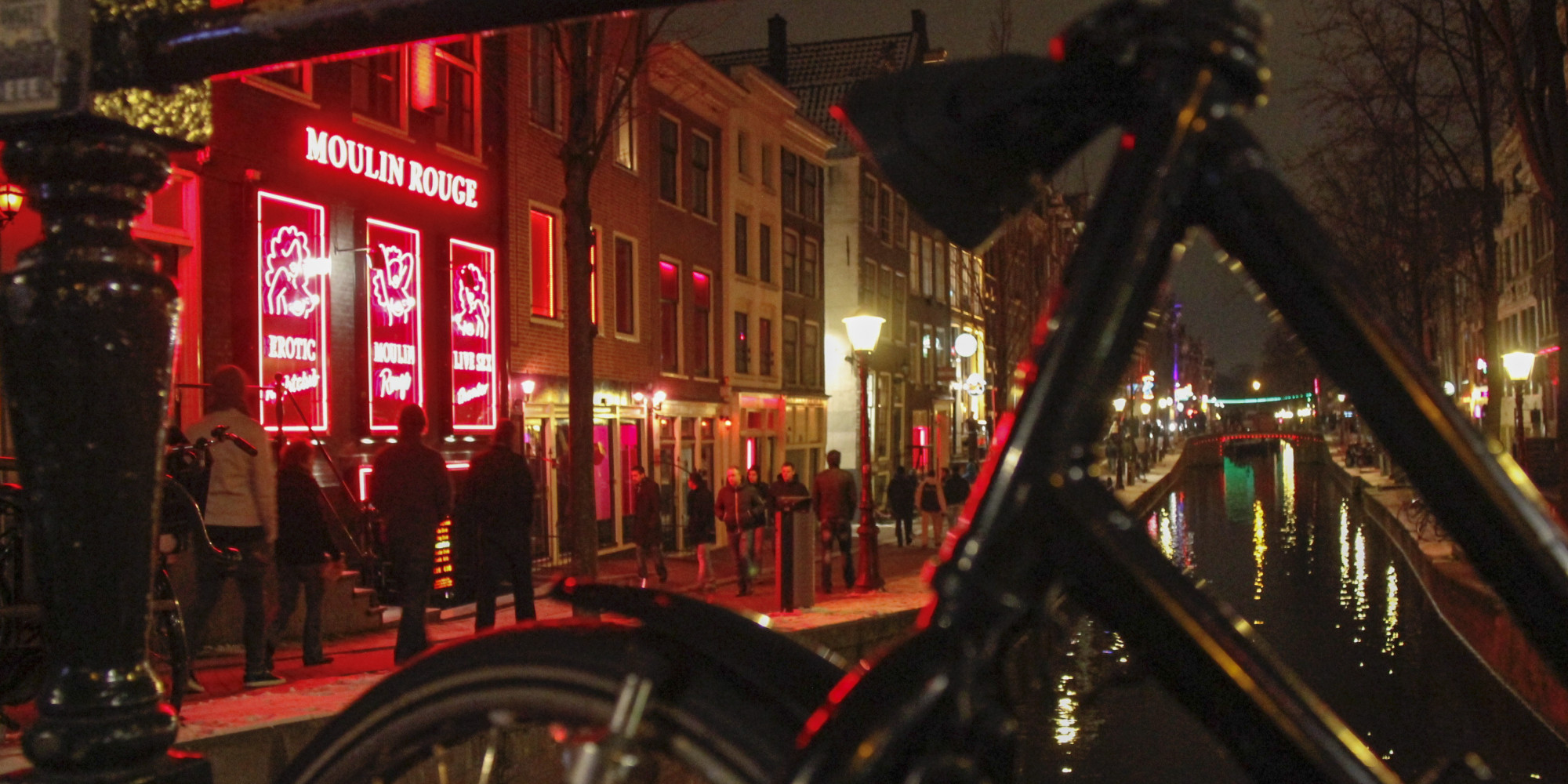 Amsterdam red light district qampa from my weekend trip