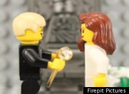 Lego Marriage Proposal