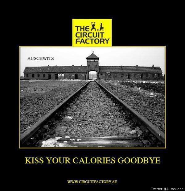 Dubai fitness firm The Circuit Factory apologises over Auschwitz joke