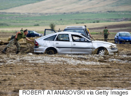 Tempête meurtrière en Macédoine