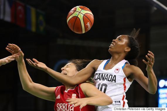 canada serbia basketball
