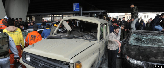 SYRIA BUS EXPLOSION
