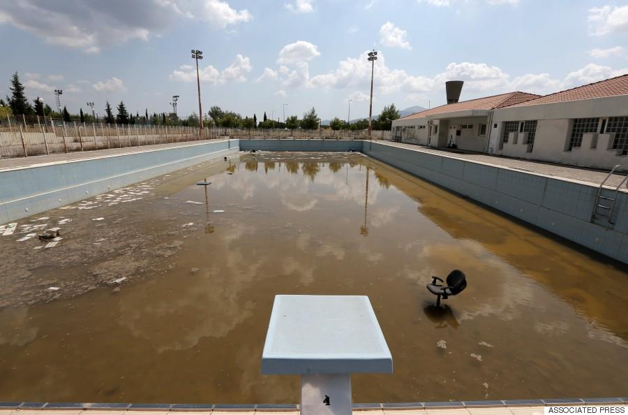 olympics athens pool