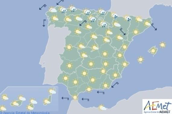 mapa de españa del día 9 de agosto