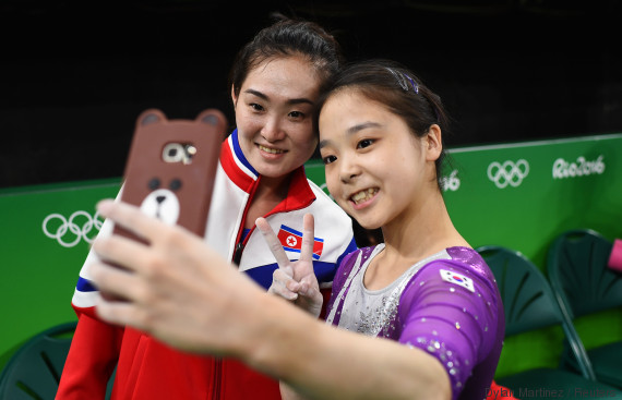 selfie korea