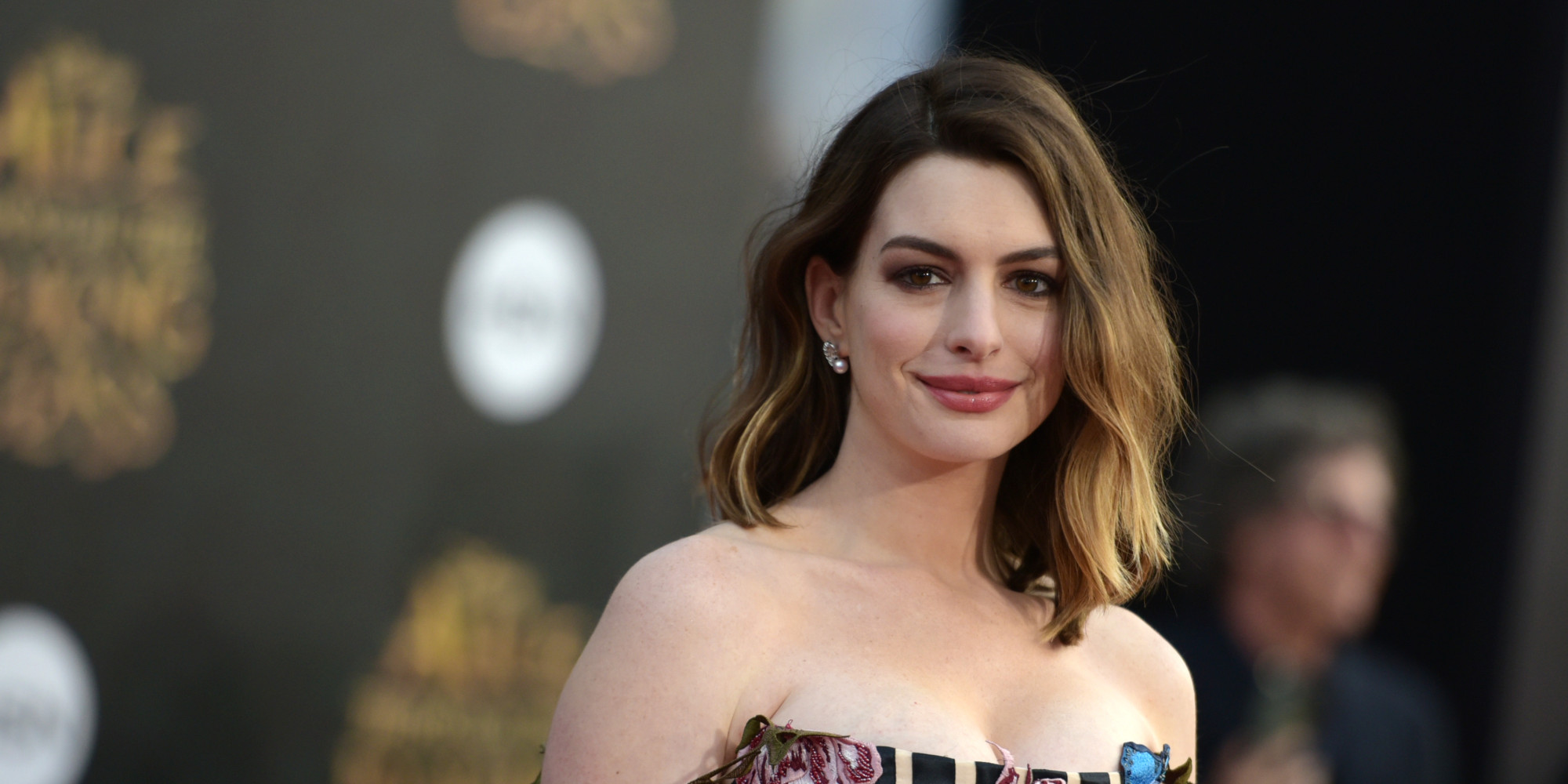 Anne Hathaway Gets Very Honest About Her Post-Baby Body Anne Hathaway Facebook