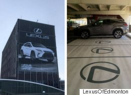 Edmonton Airport's Best Parking Spots Are Lexus-Only