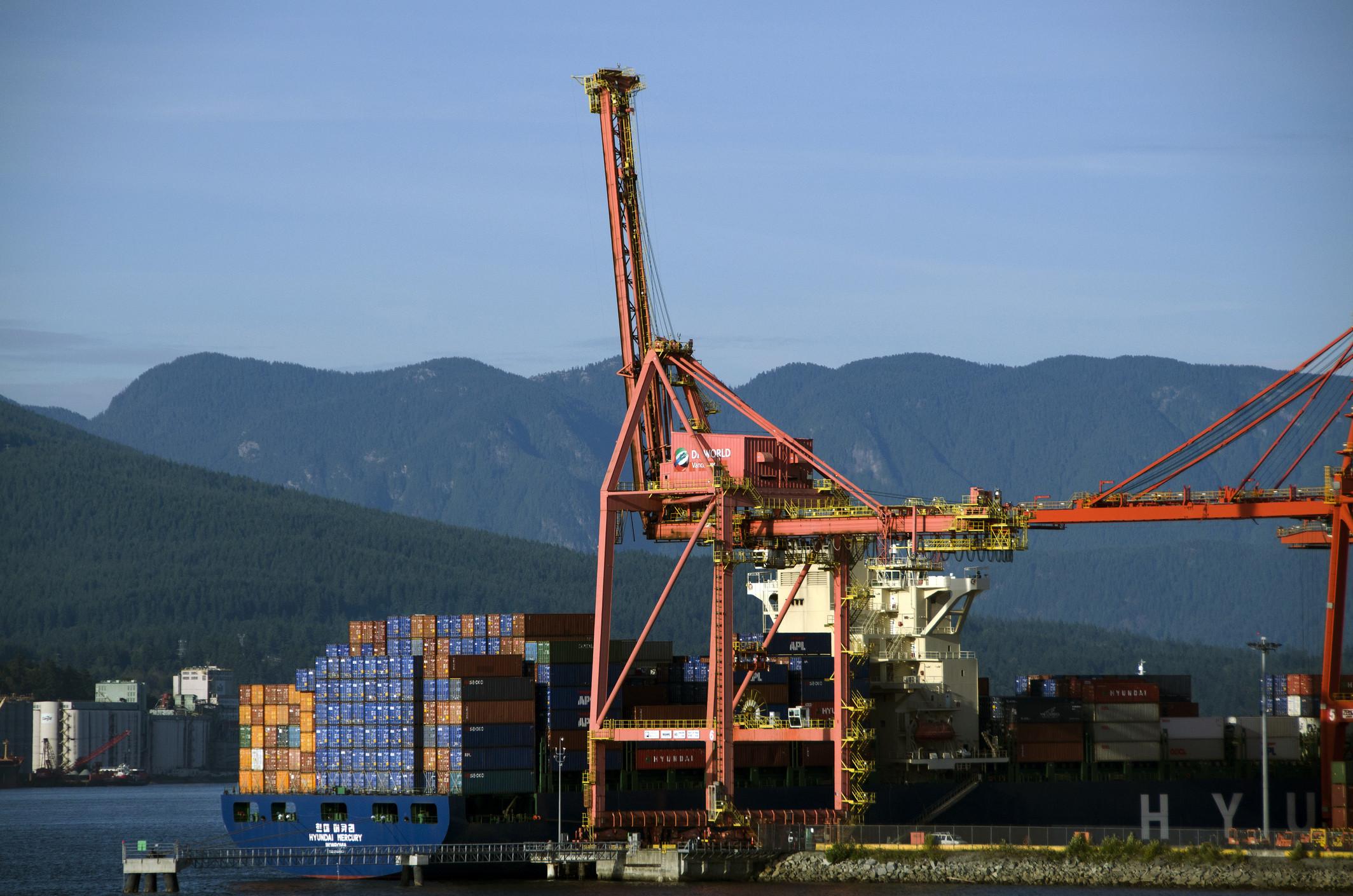 vancouver cargo port
