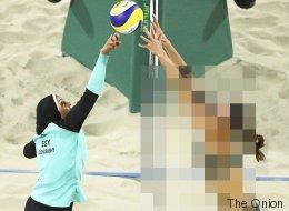 Esta imagen viral de los Juegos Olímpicos tiene trampa