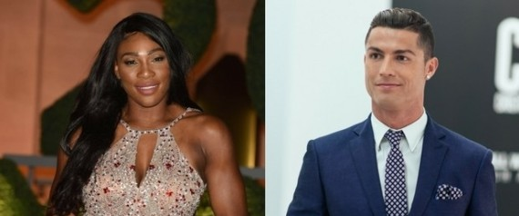 cristiano ronaldo serena williams