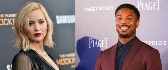 michael b jordan jennifer lawrence