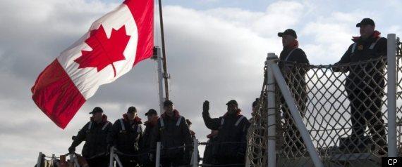 HMCS CHARLOTTETOWN NATO