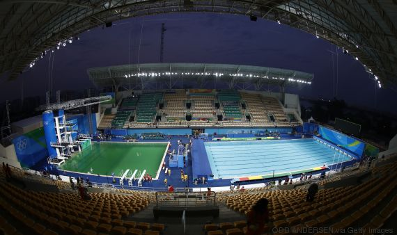 rio 2016 diving women