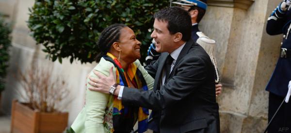 Taubira n'a pas apprécié les sous-entendus de Valls