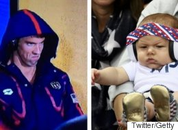OK, Boomer Phelps' Game Face Is Even Better Than His Dad's