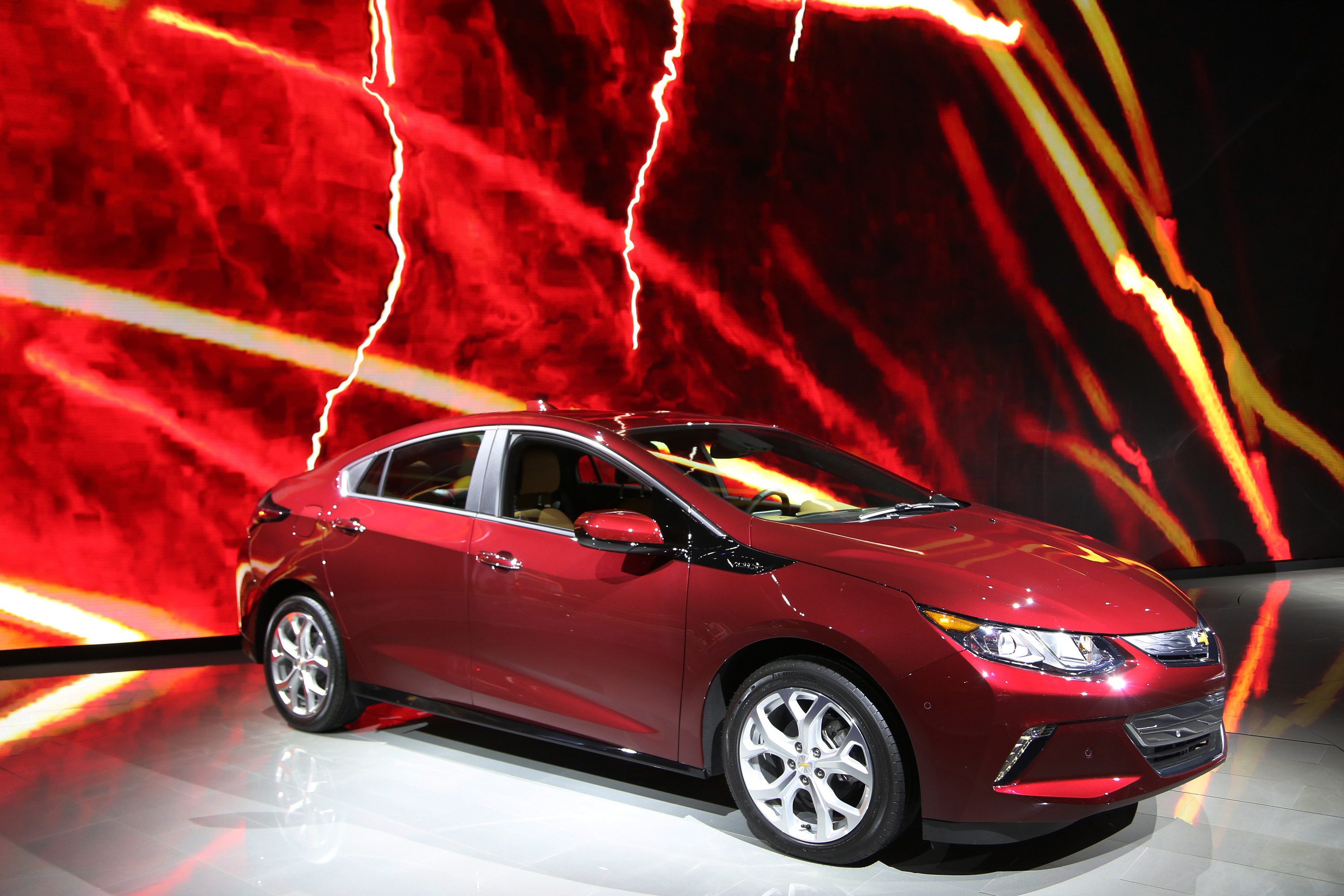 volt on display at the 2015 los angeles auto show on november 19 2015 in los angeles california the volt is the best selling electric car in canada