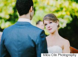 20 superbes photos de mariées qui étaient très émotives lors de la cérémonie