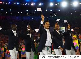 Cuando un refugiado gana una medalla, ¿qué himno suena?