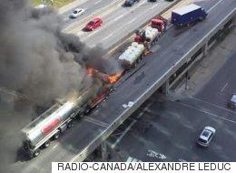 Le transport de matières dangereuses décrié après l'accident sur l'A-40