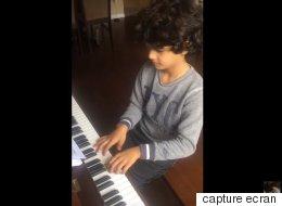 Un réfugié syrien surnommé le « petit Mozart » (VIDÉO)