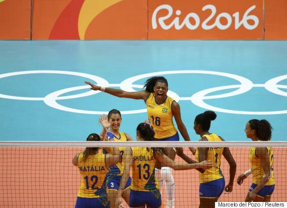volleyball brazil japan