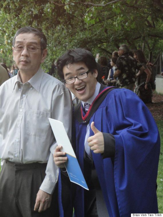 brian trinh graduation