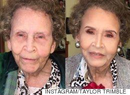 À 97 ans, elle reçoit une métamorphose incroyable