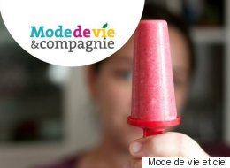 Recyclez vos fruits moches en popsicles