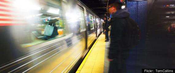 New York City Subway Man Saves Drunk