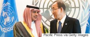 UNITED NATIONS SAUDI ARABIA