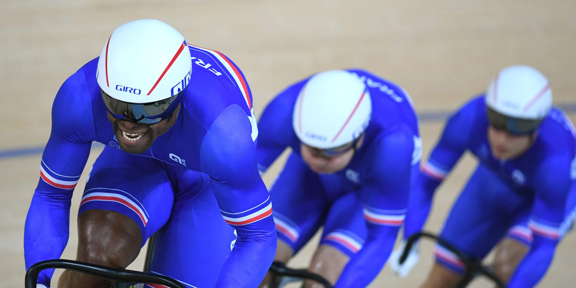 m daille de bronze pour les cyclistes de l 39 quipe de france de vitesse aux jo de rio. Black Bedroom Furniture Sets. Home Design Ideas