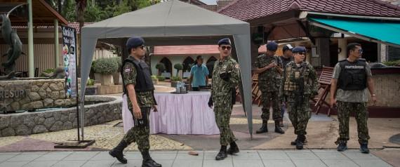 THAILAND BOMBINGS