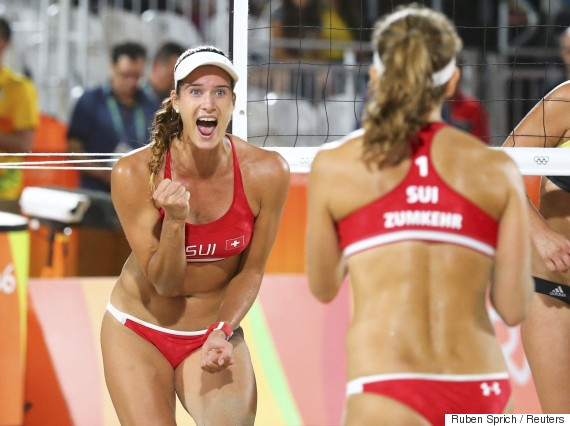 olympic rio beach volleyball women 2016 joana heid