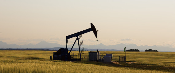 OIL DRILLING ALBERTA