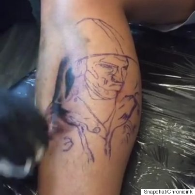 michael phelps tattoo