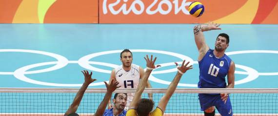 ITALY BRAZIL VOLLEYBALL