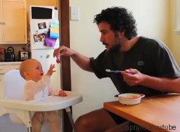 Ce papa a les conseils les plus drôles pour s'occuper de son bébé (VIDÉO)