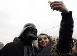 El lado oscuro de la Fuerza llega a las redes sociales