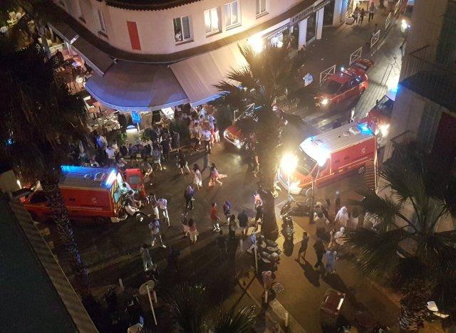Nombreux blessés lors d'un mouvement de panique près d'Antibes