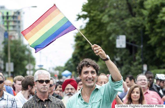 justin trudeau montreal pride parade