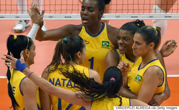 brazil russia volleyball