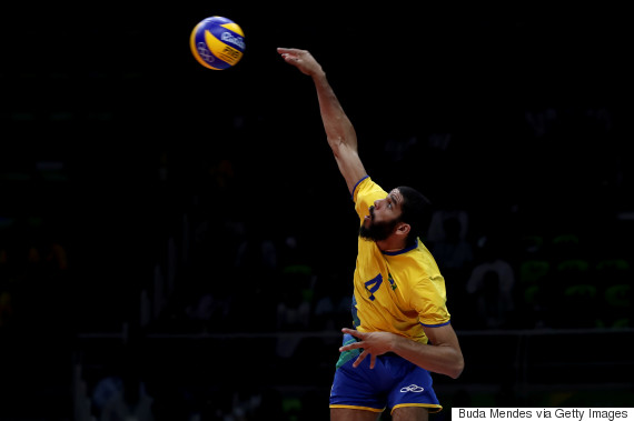 brazil france volleyball